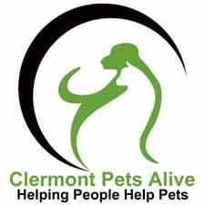 Clermont Pets Alive! Logo